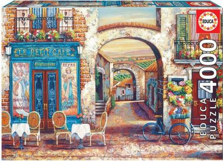 Jigsaw Puzzle - Le Petit Cafe (#18014) - 4000 Pieces Educa