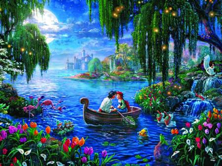 Thomas Kinkade Jigsaw Puzzle - The Little Mermaid II (#2903-11) - 750 Pieces Ceaco