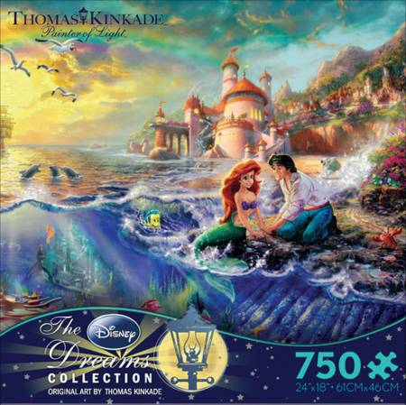 Thomas Kinkade Jigsaw Puzzle - The Little Mermaid (2903-5) - 750 Ceaco