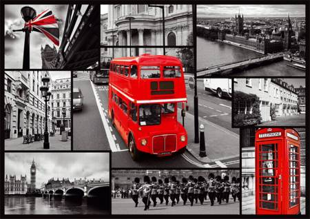 Jigsaw Puzzle - London - Collage (10278)
