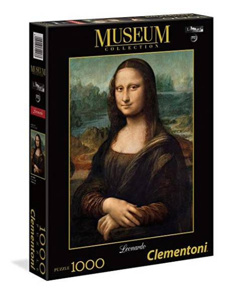Jigsaw Puzzle - Mona Lisa (#31413) (Special Museum Series) - 1000 Pieces Clementoni