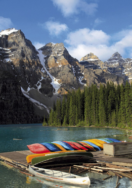 Jigsaw Puzzle - Moraine Lake (#31992) - 1500 Pieces Clementoni