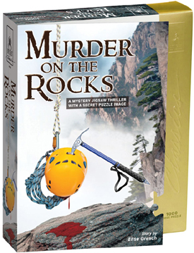 Mystery Jigsaw Puzzle - Murder on the Rocks - 1000 Pieces