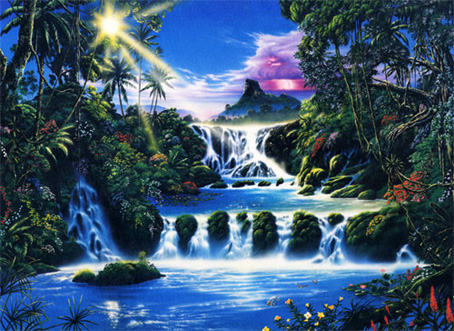 Jigsaw Puzzle - Mystical Waterfall - 1500 Pieces Ravensburger