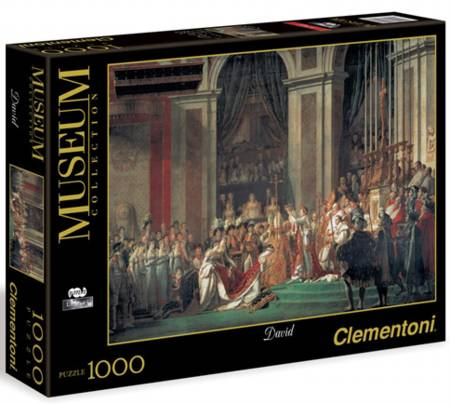 Jigsaw Puzzle - David: Napoleon (#31416) - 1000 Pieces Clementoni