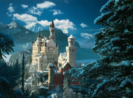 Jigsaw Puzzle - Neuschwanstein Castle (#31390) - 1000 Pieces
