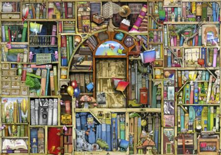 Wooden Jigsaw Puzzle - Neverending Stories (#722213) - 250 Pieces