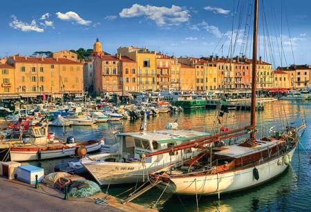 Jigsaw Puzzle - Old Port in San Tropez (26130)