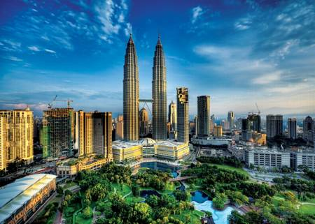 Jigsaw Puzzle - Petronas Twin Towers (27075)