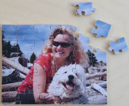 The Puzzle House - Wooden Photo Puzzle - 35 Pieces
