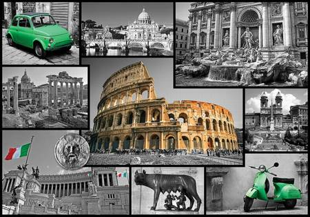 Jigsaw Puzzle - Rome - Collage (10350)