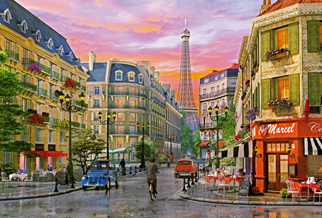 Jigsaw Puzzle - Rue Paris - 5000 Pieces Educa