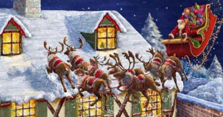 Wooden Jigsaw Puzzle - Santas Coming - 500 Pieces Wentworth