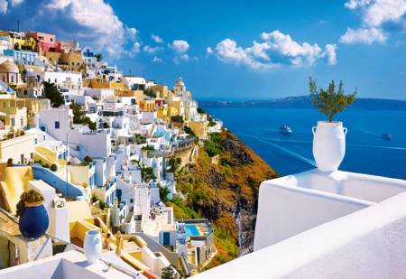 Jigsaw Puzzle - Santorini, Greece (26119)
