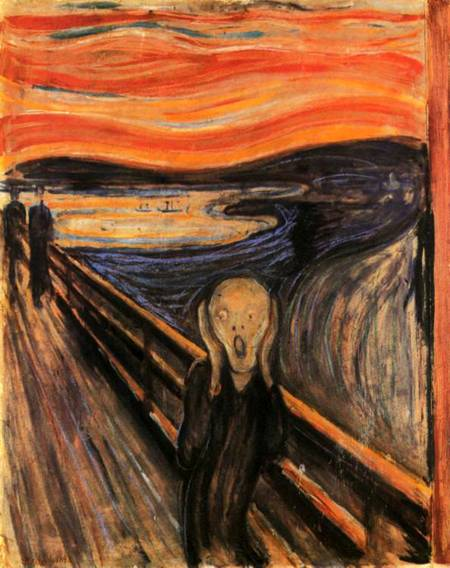 Jigsaw Puzzle - The Scream (2901N26005) - 1500 Pieces Ricordi