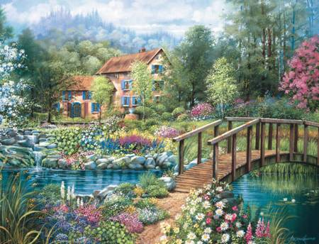 Jigsaw Puzzle - Shades of Summer (#16637)- 2000 Pieces Ravensburger