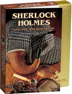 Mystery Jigsaw Puzzle - Sherlock Holmes - 1000 Pieces