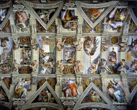 Wooden Jigsaw Puzzle - Sistine Chapel - 500 Pieces Wentworth