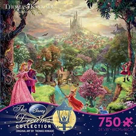 Thomas Kinkade Jigsaw Puzzle - Sleeping Beauty (2903-8) - 750 Ceaco