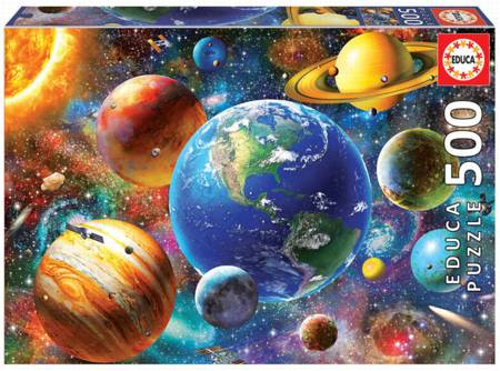 Jigsaw Puzzle - Solar System (18449) - 500 Pieces Educa