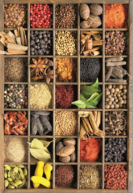 Jigsaw Puzzle - Spices (#15524) - 1000 Pieces Educa