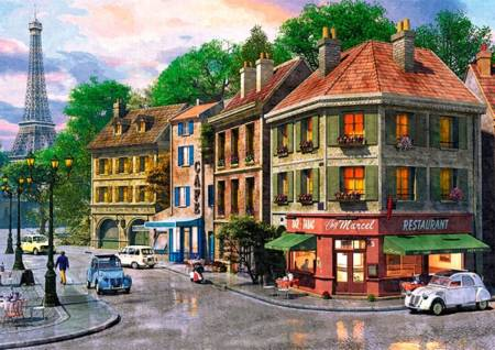 Jigsaw Puzzle - Street of Paris - 6000 Pieces Trefl