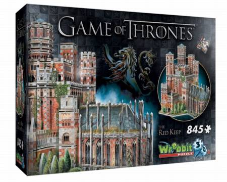 3D Jigsaw Puzzle - The Red Keep (W3D-2017) - Wrebbit