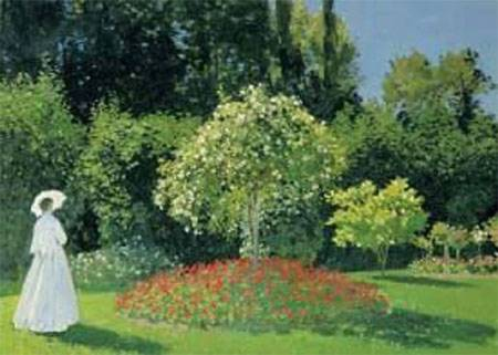 Jigsaw Puzzle - The Woman in Garden (#2901N16201) - 1500 Pieces Ricordi