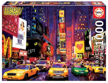 Jigsaw Puzzle - Times Square, NY