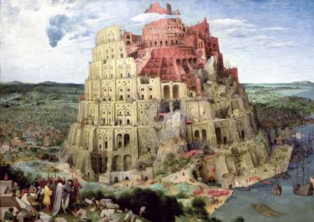 Jigsaw Puzzle - Tower of Babel (45001) - 4000 Pieces Trefl