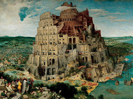 Jigsaw Puzzle - Tower of Babel (#2801N16056G) - 1000 Pieces Ricordi