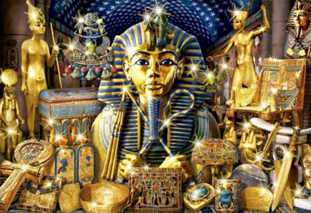 Jigsaw Puzzle - Treasures of Egypt (#16751) - 1000 Pieces Educa