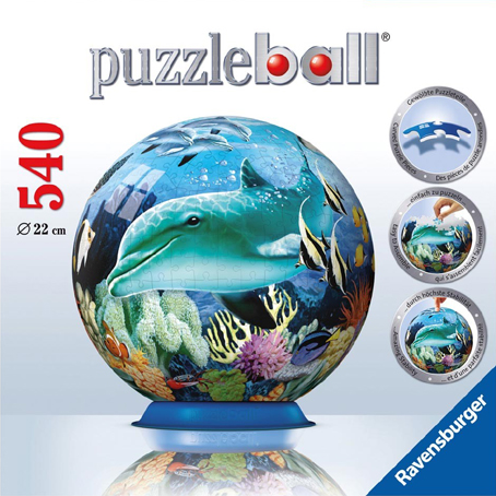 3D Jigsaw Puzzle - Underwater World - Ravensburger