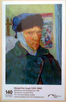Wooden Jigsaw Puzzle - Van Gogh (Self Portrait) - 140 Pieces
