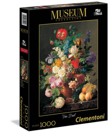 Jigsaw Puzzle - Vase of Flowers (#31415) (Special Museum Series) - 1000 Pieces Clementoni