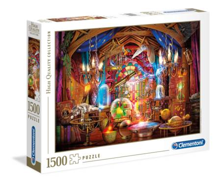Jigsaw Puzzle - Wizards Workshop (31813) - 1500 Pieces Clementoni