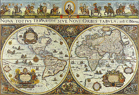 Jigsaw Puzzle - World Map, 1665 - 3000 Pieces Ravensburger