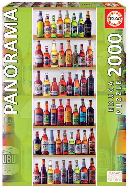 Jigsaw Puzzle - World of Beers (#18010) - 2000 Pieces Educa