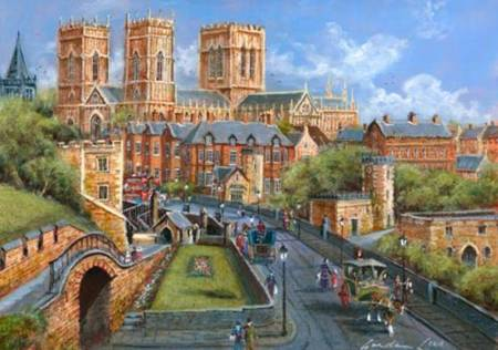 Wooden Jigsaw Puzzle - York - 500pc Wentworth