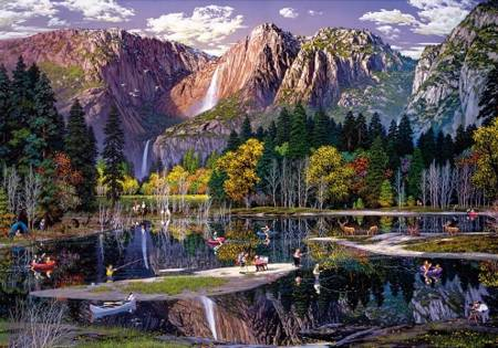 Wooden Jigsaw Puzzle - Yosemite (762105) - 500 Pieces