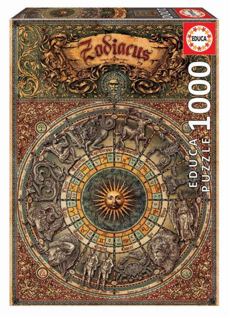 Jigsaw Puzzle - Zodiac (#17996) - 1000 Pieces Educa